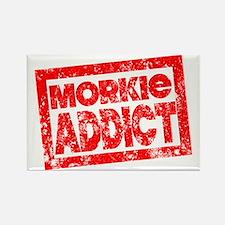 Morkie ADDICT Rectangle Magnet
