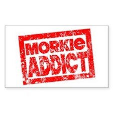 Morkie ADDICT Decal