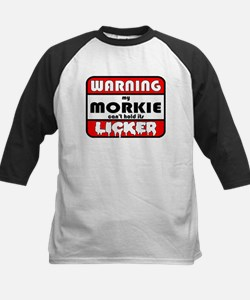 Morkie LICKER Kids Baseball Jersey