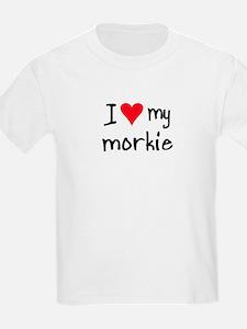 I LOVE MY Morkie T-Shirt