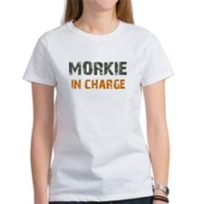 Morkie IN CHARGE Tee