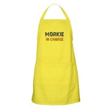 Morkie IN CHARGE Apron