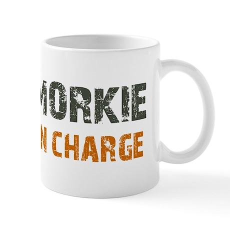 Morkie IN CHARGE Mug