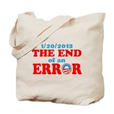End of an Error! Inauguration day Tote Bag