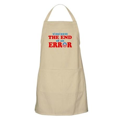 End of an Error! Inauguration day Apron
