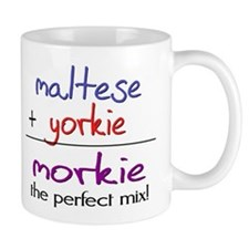 Morkie PERFECT MIX Small Mugs