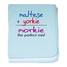 Morkie PERFECT MIX baby blanket
