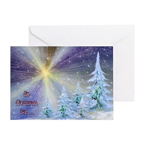 Blazing Star Christmas Card