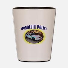 Honolulu Police Shot Glass