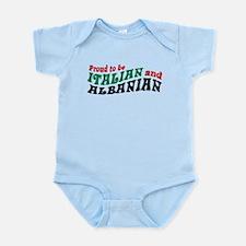 Proud Italian Albanian Infant Bodysuit