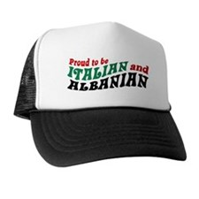 Proud Italian Albanian Trucker Hat