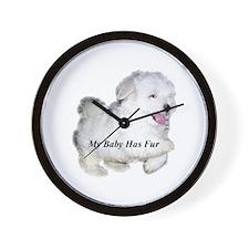 Fur Baby Wall Clock