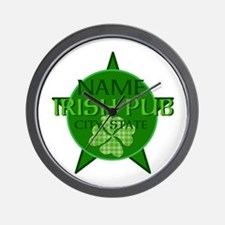 Custom Irish Pub Wall Clock
