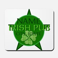 Custom Irish Pub Mousepad