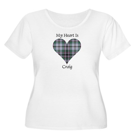 Heart - Craig Women's Plus Size Scoop Neck T-Shirt