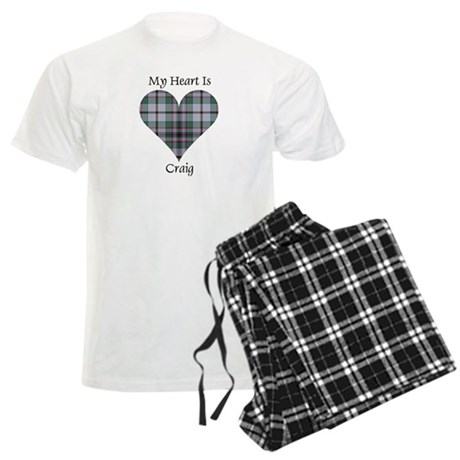 Heart - Craig Men's Light Pajamas