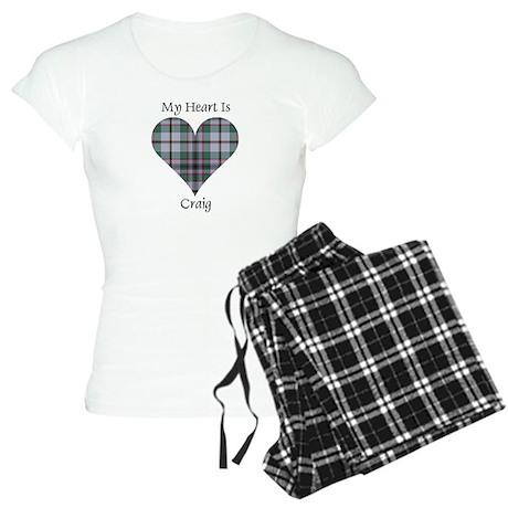 Heart - Craig Women's Light Pajamas