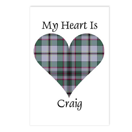 Heart - Craig Postcards (Package of 8)