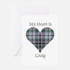 Heart - Craig Greeting Card