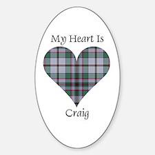 Heart - Craig Decal