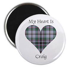 "Heart - Craig 2.25"" Magnet (10 pack)"