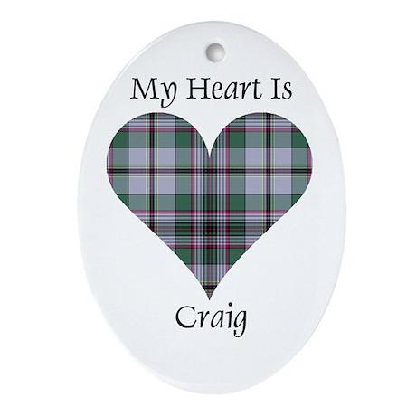 Heart - Craig Ornament (Oval)