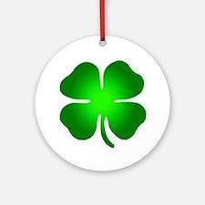 Four Leaf Clover Ornament (Round)