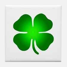 Four Leaf Clover Tile Coaster