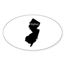 New Jersey Native Decal