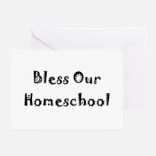 Greeting Cards (Pk of 10) - bless