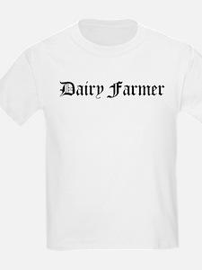 Dairy Farmer Kids T-Shirt
