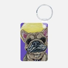 French Bulldog Smile Keychains