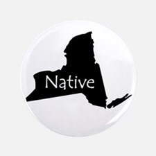 """New York Native 3.5"""" Button"""