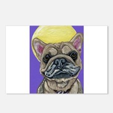 French Bulldog Smile Postcards (Package of 8)