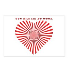 You Had Me At Woof. Postcards (Package of 8)