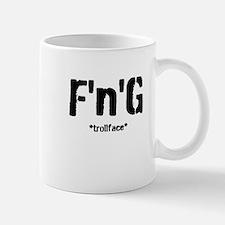 F'n'G trollface Small Small Mug