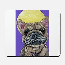French Bulldog Smile Mousepad