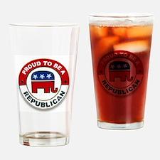 Unique Gop Drinking Glass