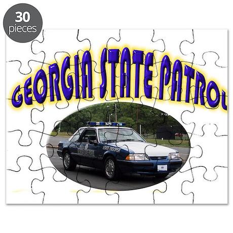 Georgia State Patrol Puzzle