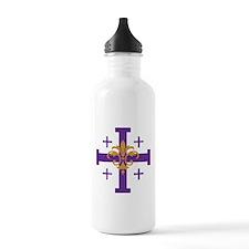 Jerusalem Cross Water Bottle