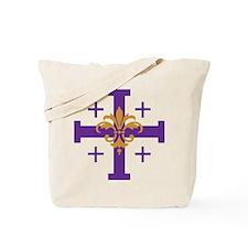 Jerusalem Cross Tote Bag