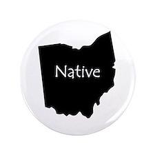 """Ohio Native 3.5"""" Button"""