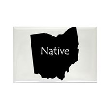 Ohio Native Rectangle Magnet