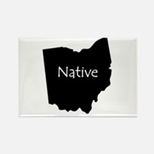 Ohio Native Rectangle Magnet