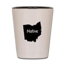 Ohio Native Shot Glass