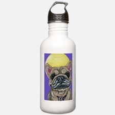 French Bulldog Smile Water Bottle