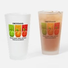 Funny Dietitian Drinking Glass