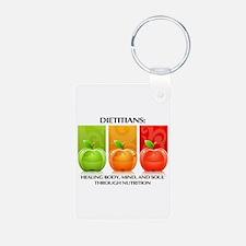 Cute Dietitian Keychains