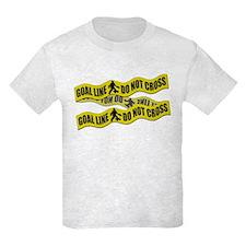 Field Hockey Crime Tape T-Shirt