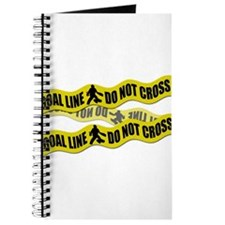 Field Hockey Crime Tape Journal